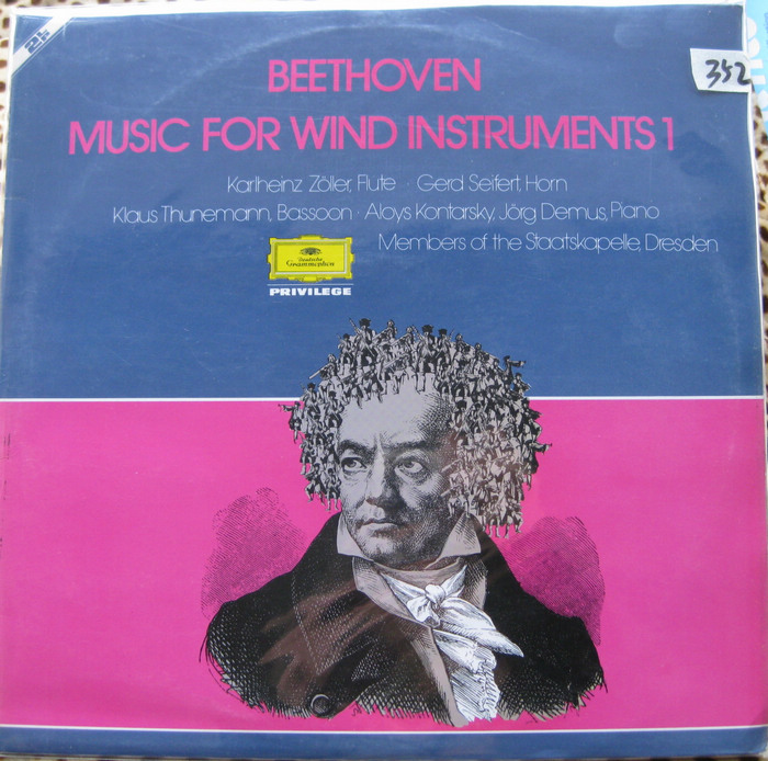 贝多芬beethoven管乐合集 巴松大管bassoon 长笛flute 长号