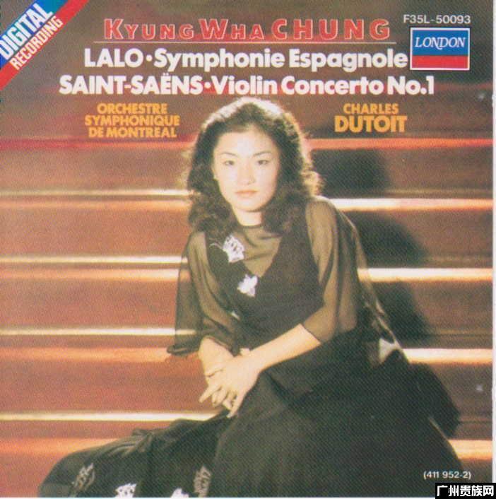 3538拉罗 圣桑 郑京和小提琴,迪图瓦 蒙特利尔交响乐团 上...