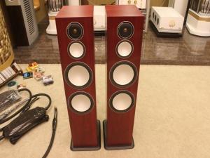 英国 猛牌 Monitor Audio Silver银 10 音箱(玫瑰红木)