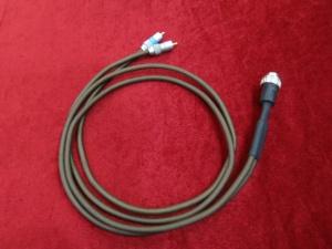 英国 茗5针转RCA 专用范登豪定制1米
