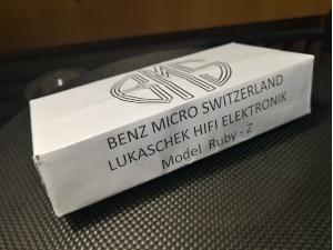 瑞士 Benz Micro(奔驰)RUBY-Z 唱头