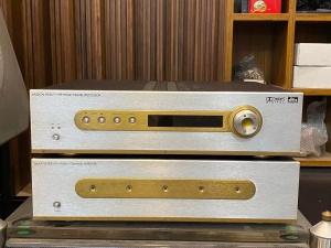 英国 音乐传真 HTP 前级+HT600 5声道后级