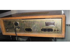 ROGERS木头外壳古董功放 成都二手音响器材HIFI音响
