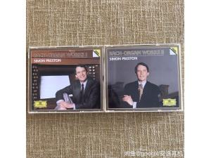 【722/723】6CD Bach Organ Simon Preston巴赫管风琴作品DG  德国  DG