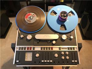 瑞士 REVOX A700 两轨 磁带开盘播放器
