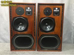 英国原产KEF 104 足球场10寸古董大书架箱发烧音箱