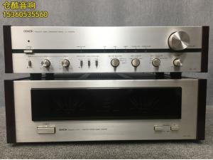 日本原产DENON天龙 PRA-1000 POA-1500 双表头前后级功放 220V