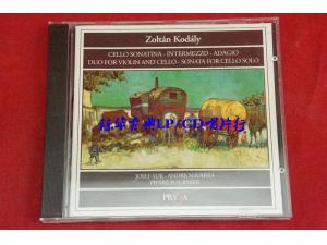 Praga 柯达伊:弦乐三重奏/小提琴与大提琴二重奏/大提琴独奏曲