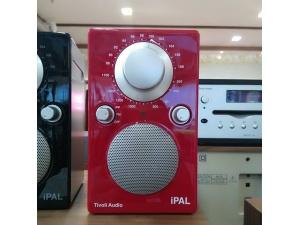 流金岁月Tivoli Audio--iPAL 便携收音机(红色/银色)