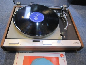 HORENS多能士TD125MK2黑胶唱机