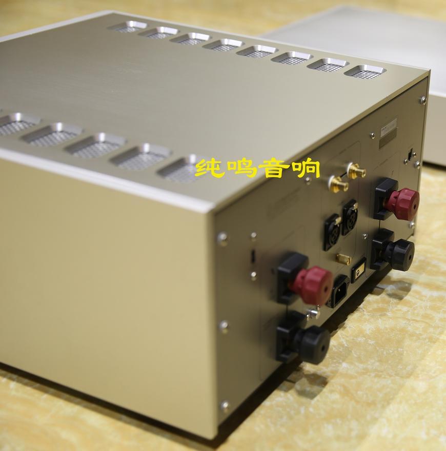 日本LUXMANM-800A旗舰空调后级_力士_纯安装图纸装载机功放图片