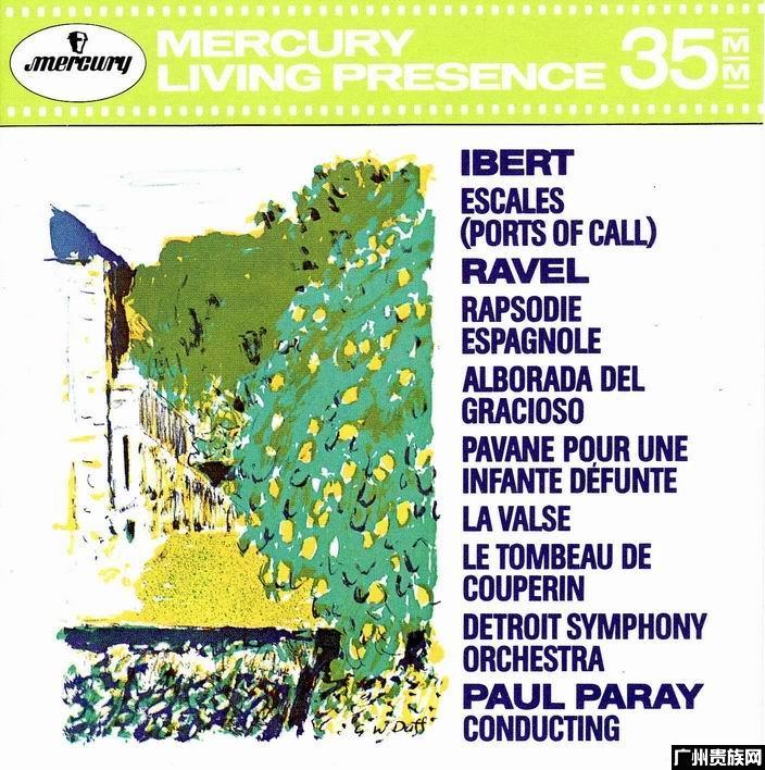 3038伊贝尔 拉威尔 帕雷 底特律交响乐团