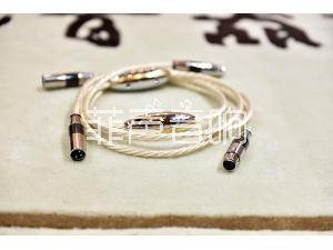 荷兰crystal cable晶彩Absolute dream绝对梦幻平衡线1.5米