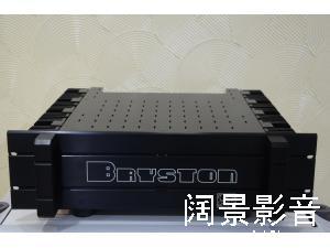 丹拿 PMC ATC 音箱绝配 拜士通 Bryston 4BST 大功率金封管立体声后级