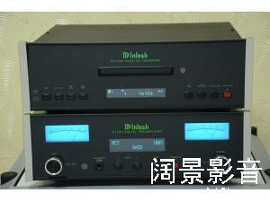 McIntosh麦景图 MCT450 CD/SACD转盘 D1100 解码前级