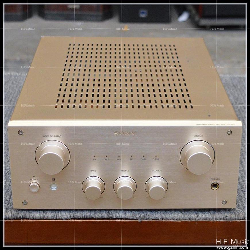 二手原装日本 sony/索尼 ta-f3000 场效应管发烧功放机 原装110v