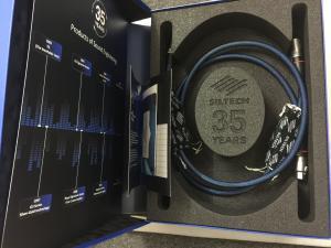 荷兰银彩35周年皇冠XLR平衡信号线1米