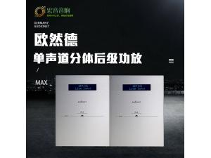 全新行货保修!德国Audionet 25周年版 MAX 后级功放