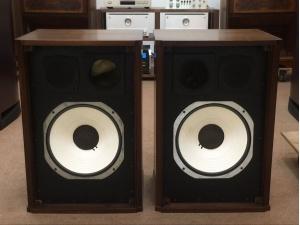 JBL C45S1十四寸蜂巢全钢磁设计古董收藏品!