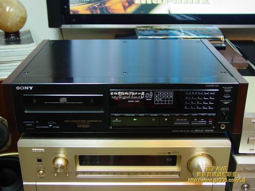 索尼cdp-557esd cd机