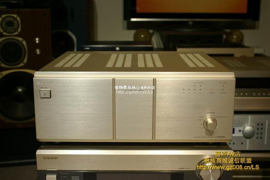 索尼ta-n9000es 5声道影院后级
