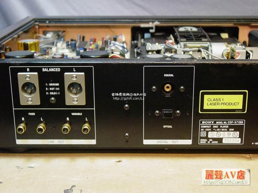 索尼cdp-x7esd cd机
