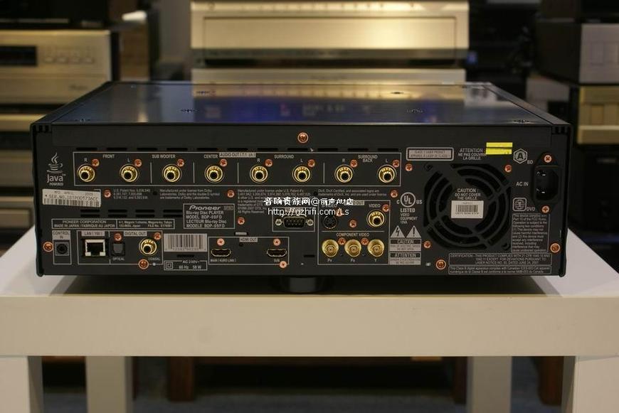 先锋bdp-09fd 蓝光播放机/日本原装/丽声av店  商品品牌:pioneer/先锋