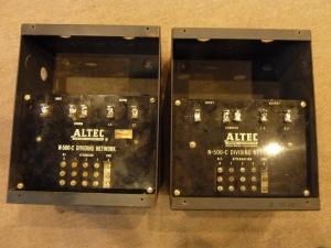 最早期好莱坞专用皱皮漆ALTEC N500C分频器