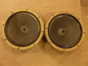 最早期编号ALTEC经典515C-15寸钴磁低音单元