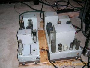 西电WE-lengeven128B(WE124C)单声道后级