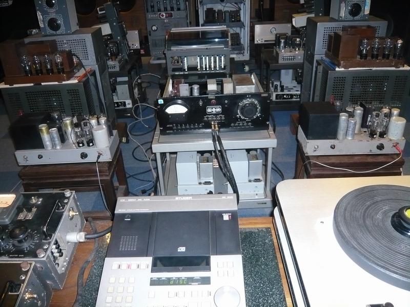 给朋友看的搭配西电300b功放的专业前级