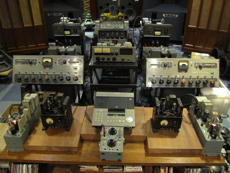 西电we-49b电影院功放前级放大器.五大件套