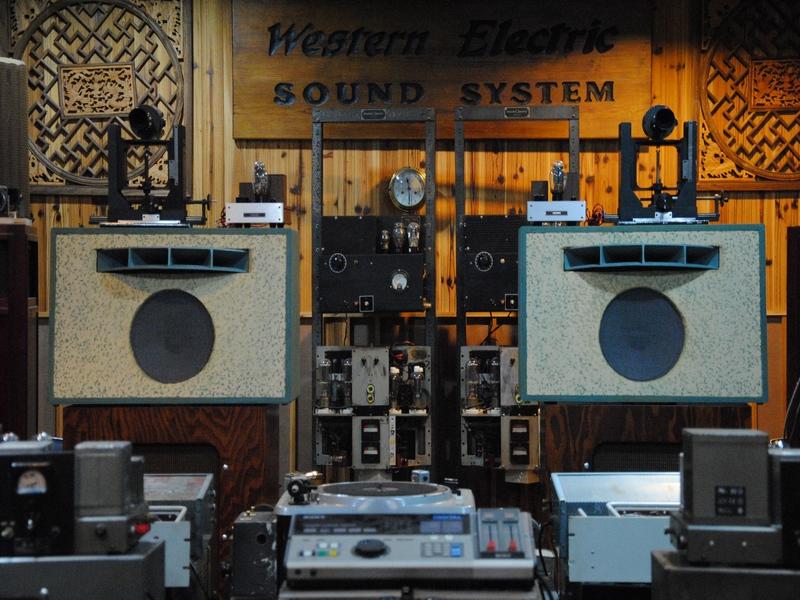 原装西电monitor system-757b监听喇叭音箱