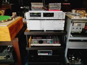 一代名器STUDER D731+D19M电台机