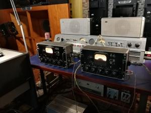 西电WE-22D MONO分体前级+WE300B后级