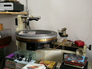 德国电台版EMT930st唱盘+原装避震架