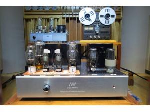 ALP audio Ltd 高峰胆机由英国元件西电线路制作 WE211K MK2 Silver 银牛单端合并功放(也可作后级使用)(大陆总经销)