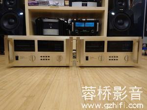 日本 金嗓子/Accuphase M-100 单声道后级