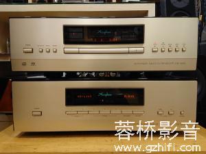 金嗓子Accuphase DP-800转盘+DC-801解码