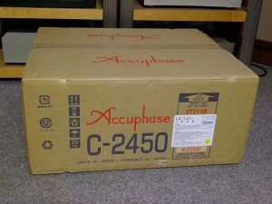 金嗓子Accuphase  C-2450  最新款高端前级