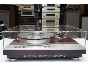 日本LUXMAN 力士 PD-310 +SAEC-WE308唱臂经典 带吸盘 皮带黑胶唱机