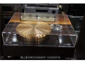 日本 美歌 micro bl-111+SME3009唱臂 炮金铜黑胶唱机