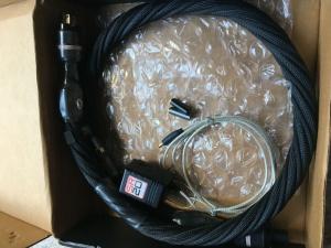 美国第一线顶级CTS A电源线,银线顶级