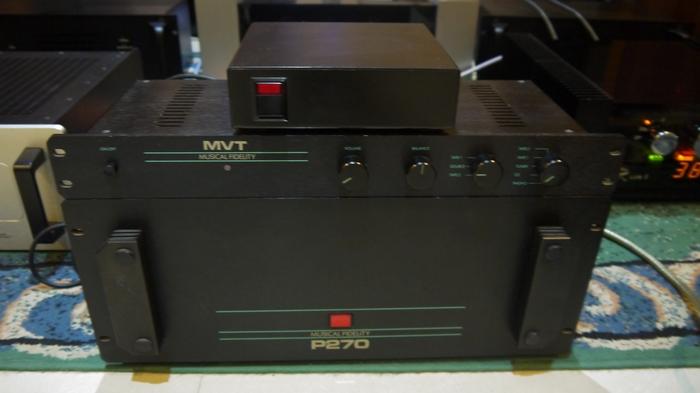 英国音乐传真mvt分体电源前级p270后级