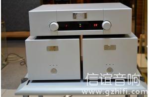 瑞士Goldmund高文27.8 前级+ TELOS 200 单声道后级