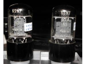 德律风根极品级6SN7一对(已售出)