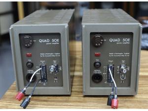 英国QUAD50E BBC LS35A原配功放