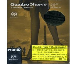 Quadro Nuevo & NDR Pops Orchestra End of The Rainbow 新四重奏&NDR 交响乐团 彩虹的尽头 SACD    FMSA6172-2