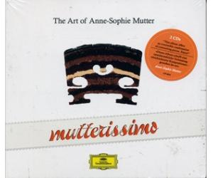Annne Sophie Mutter The Art of Annie-Sophie Mutte Mutterissimo 慕特的小提琴艺术 2CD     4796834
