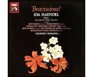 Ida Haendel Bravissima! 韩黛尔小提琴艺术(2) 安可曲篇 (180克33转LP黑胶)   ASD3785